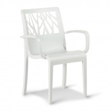 Vegetal garden armchair