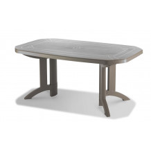 Vega 165 x 100 cm garden table