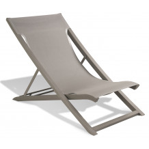 SUNSET foldable lounger