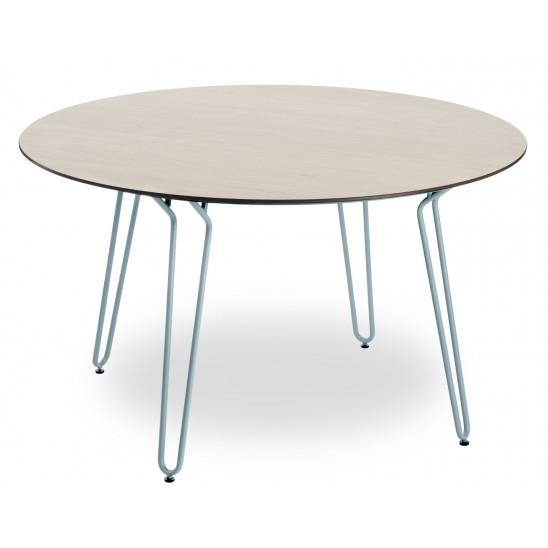 Ramatuelle Table Ø130 Cm Blue Legs