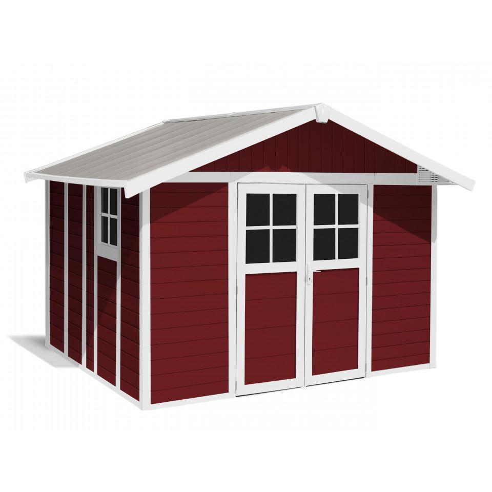 Déco Gartenhaus 11 M Red