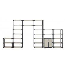 Workline concept shelves