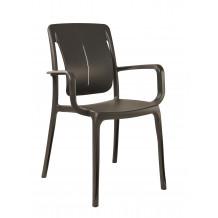Connection garden armchair
