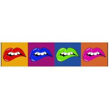 DECORATIVE WALL SET Lip's Wow'Roll