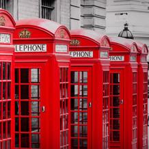 Element 3D London Phone Box decorative wall panels