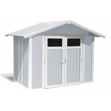 Utility Garden Shed 4.9 m² grey-blue