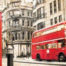 Element 3D London Bus decorative wall panels