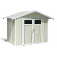 Utility Garden Shed 4.9 m² grey-green