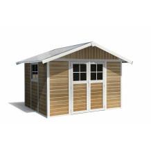 7.5 m² 'Sherwood Deco' garden sheds
