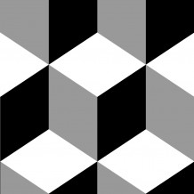 Kube Square adhesive tiles