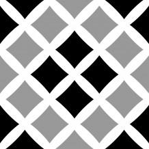 Square Cross adhesive tiles