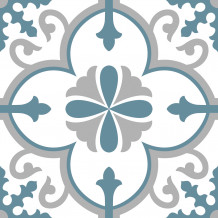 Flora Square adhesive tiles