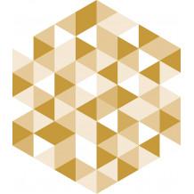 Diamond Facette adhesive tiles