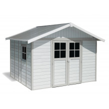 Deco Gartenhaus 11 M2 White