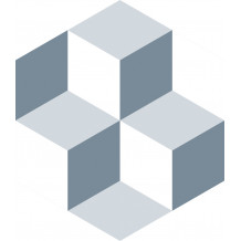 Diamond Kube adhesive tiles