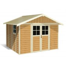 11 m² 'Sherwood Deco' garden sheds