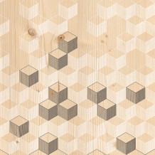 ELEMENT 3D NATURAL PIXEL WALL PANELS